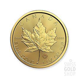 1 Unze Gold Maple Leaf
