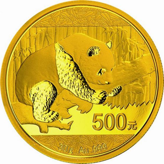 30 Gramm Gold China Panda 2017